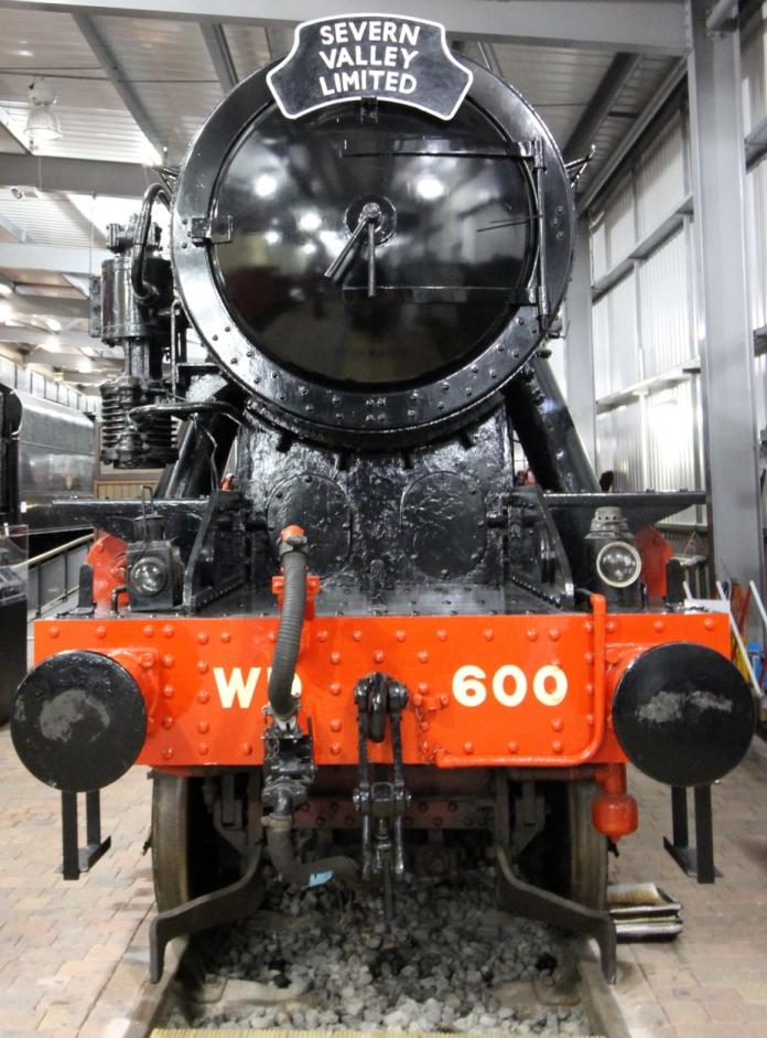 Severn Valley Railway Highley Engine House July 2016 - WD 2-10-0 no 600 Gordon Longmoor Military Railway LMR (2)