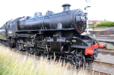 Severn Valley Railway Kidderminster July 2016 Ivatt 4MT 2-6-0 43106 mucky duck (07)