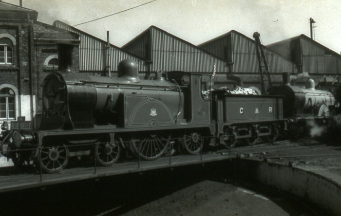 The Blue Belle - Caledonian Single no 123 and Drummond LSWR T9 120